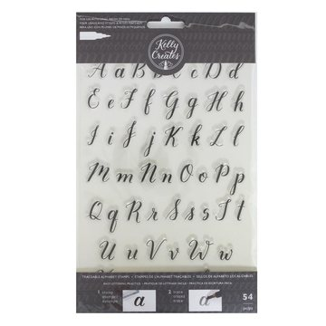 Kelly Creates Rubberstamp Traceable Alphabets