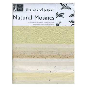 Japanese Paper Place Natural Mosaics Collection of Japanese Paper