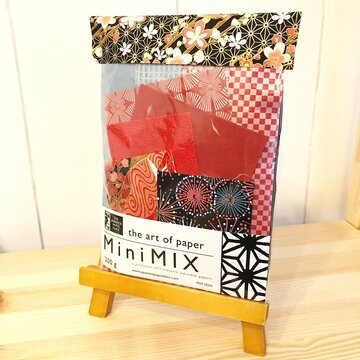 Japanese Paper Place Japanese Paper Mix 200g Red/Black/Gold