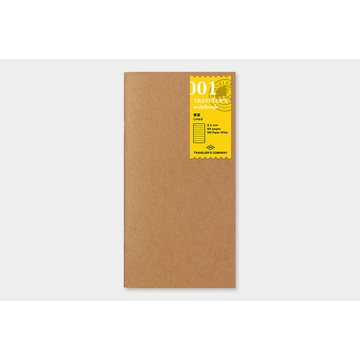 Traveler's Company Traveler's Notebook 001 Lined Notebook Refill (regular)