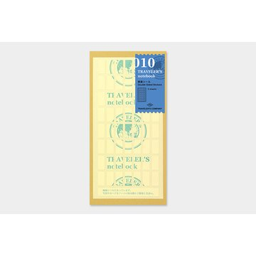Traveler's Company Traveler's Notebook 010 Double Sided Stickers (regular & passport)