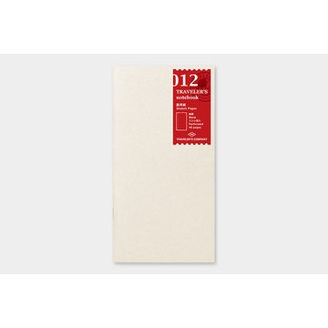 Traveler's Company Traveler's Notebook 012 Sketch Paper Notebook (regular)