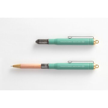 Traveler's Company Limited Edition Brass Factory Green - Ballpoint Pen