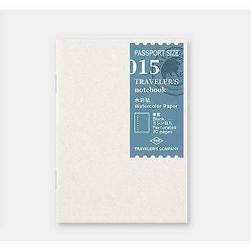Traveler's Company Traveler's Notebook Passport - 015. Watercolor Paper Refill