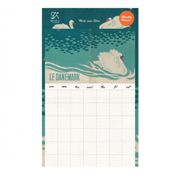 Suatelier Sonia Stickers no. 2053 Monthly Planner