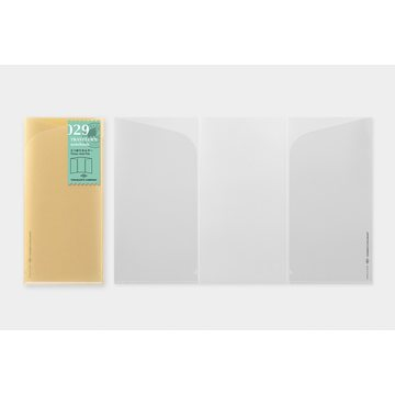Traveler's Company Traveler's Notebook Regular - 029. Three Fold Refill for A4