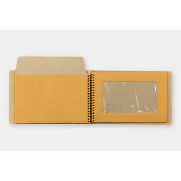 Traveler's Company TRC SPIRAL RING NOTEBOOK Window Envelope B6