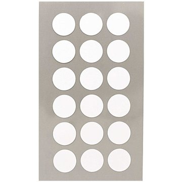 Paper Poetry White 15mm Dot Stickers 4 sheets