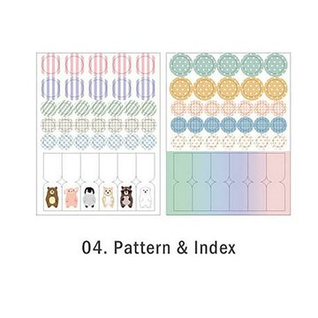 Iconic Everyday Stickers Pattern & Index