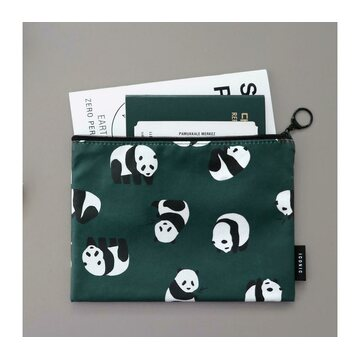 Iconic Comely  Flat Pouch M - Panda