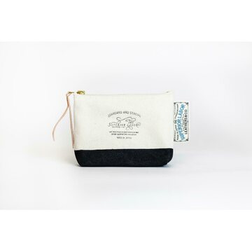 The Superior Labor Cotton Canvas Pouch 01 Black