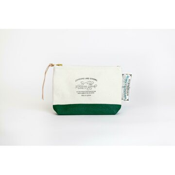 The Superior Labor Cotton Canvas Pouch 01 Green