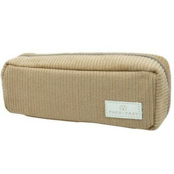 Kamio Japan Paco Tray Pencil Case Sand Beige