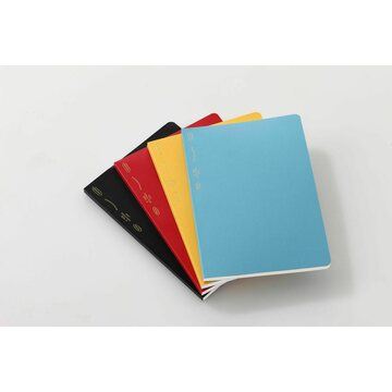Stalogy 1/2 Year Notebook B6 Blue
