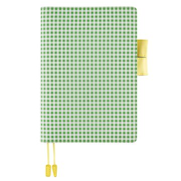 Hobonichi Apple Green Gingham A5 Cousin 2021