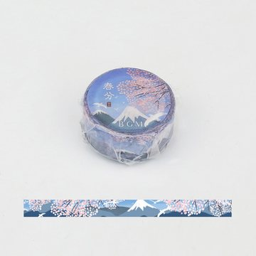 BGM Four Seasons Vernal Equinox Washi Tape
