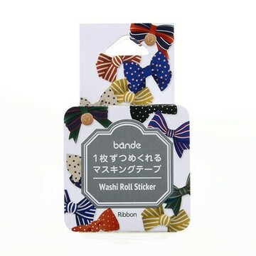 Bande Washi Roll Sticker Ribbon