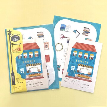Mind Wave Small Birds Letter Set Book Shop