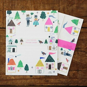 Cozyca Products Aiko Fukawa House Letter Set