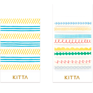King Jim Kitta Slim Washi - Line KIT005