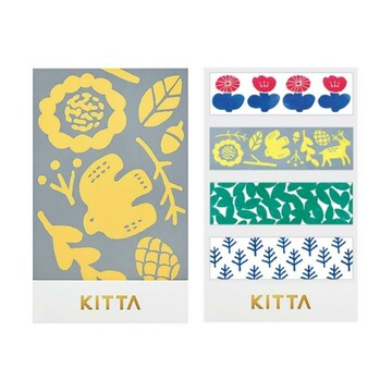 King Jim Kitta Washi - KIT018 Nordic