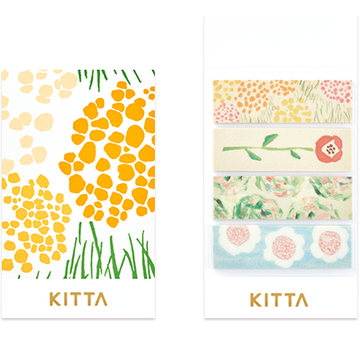 King Jim Kitta Washi - KIT022 Flower2