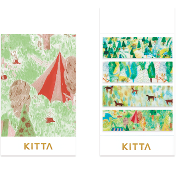 King Jim Kitta Washi - KIT054 Meadow