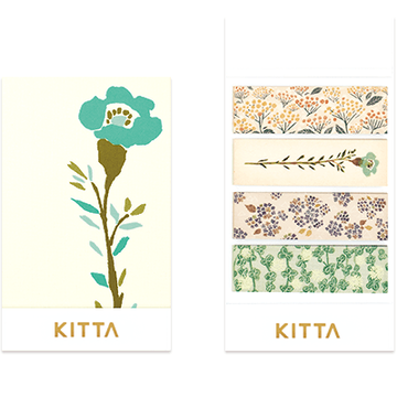 King Jim Kitta Washi - KIT049 Flower 4