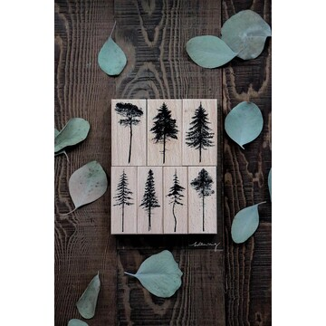 Lin Chia Ning Forest Rubber Stamps Vol.1