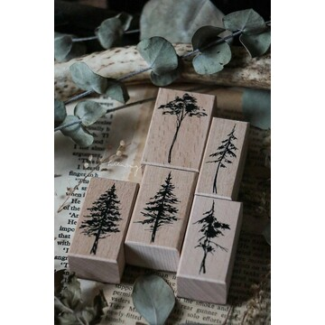 Lin Chia Ning Forest Rubber Stamps Vol.2