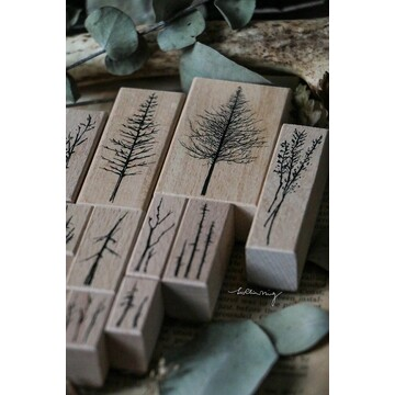 Lin Chia Ning Forest Rubber Stamps Vol.3