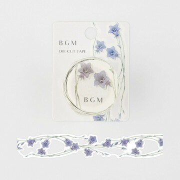 BGM Die-Cut Lace Tape Bluebell