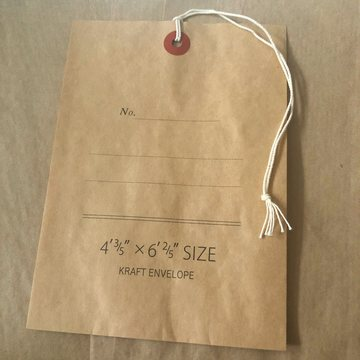 Classiky Kraft Envelope Brown Medium