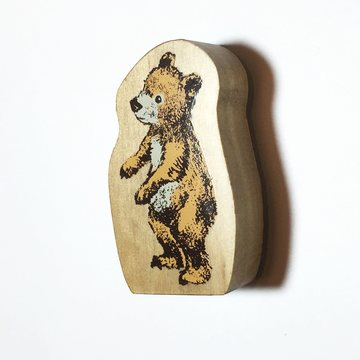 Kodomo no kao Rubberstamp - Bear
