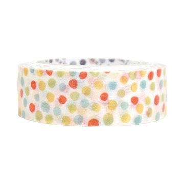 Shinzi Katoh Washitape Colorful Dots (bright)