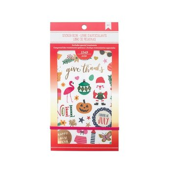 American Crafts Seasonal 30 pages Sticker Book