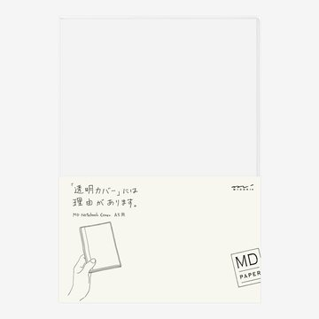 Midori MD Notebook A5 Clear COVER