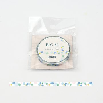 BGM Life Soap Bubbles Washitape 5mm