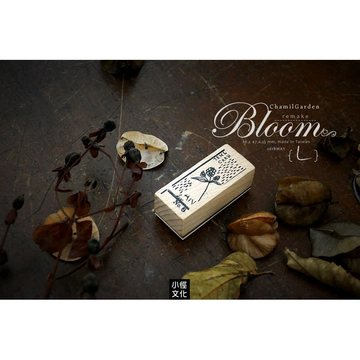 Chamil Garden Bloom Vol.1 Rubberstamp L
