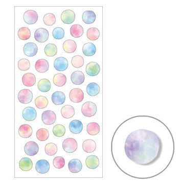 Mind Wave Pastel Dots Masking Sticker