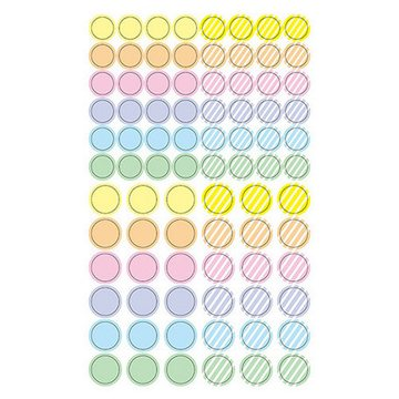 Pinebook Masking Stickers Small Pastel Dots