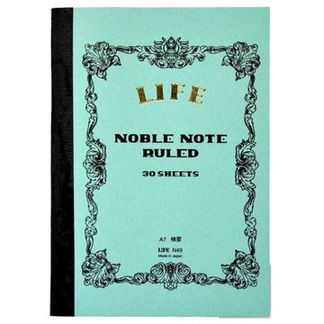 Life A7 Noble Note Ruled