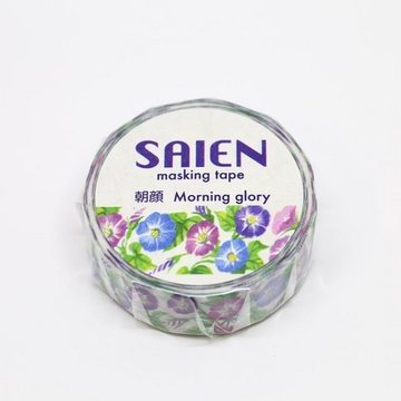 Kamiiso Saien Washitape Morning Glory