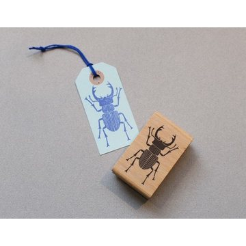 Perlenfischer Rubberstamp Big Horned Beetle