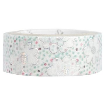 Shinzi Katoh Washitape Cute Flowers Foil