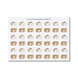Sinikara Stationery Planner Stickers Letters and Parcels