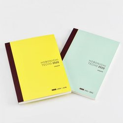 Hobonichi A5 Cousin Avec Books (January Start) A5 Size / 6-Month x2 Book Set