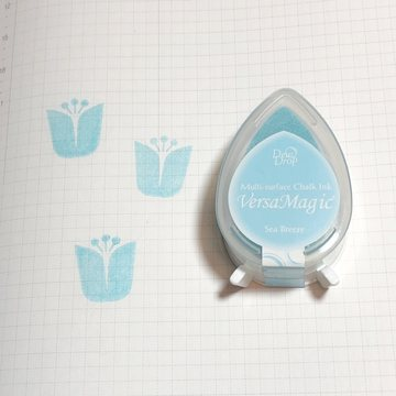 Tsukineko Versa Magic Chalk Ink Pad Dew Drop - Sea Breeze