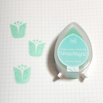 Tsukineko Versa Magic Chalk Ink Pad Dew Drop - Aquatic Splash