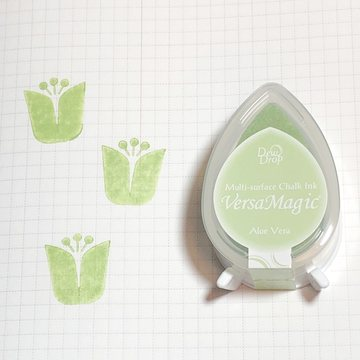 Tsukineko Versa Magic Chalk Ink Pad Dew Drop - Aloe Vera